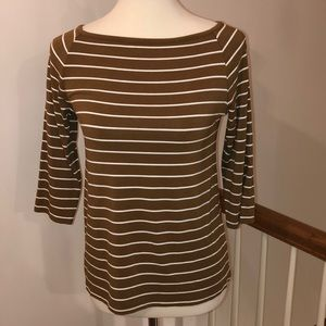 Tops - Chico's Boat Neck Top Size 0 (4/6 US)